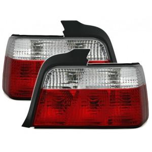 Baklysen klarglas BMW E36...