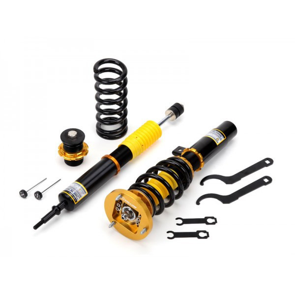 Yellow Speed Dynamic Pro Sport Coilovers Audi A6 4B Quattro