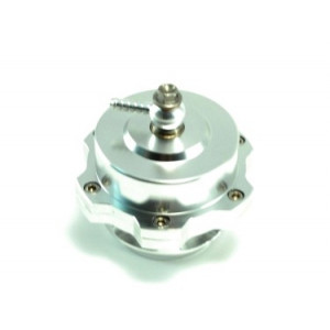 Dumpventil 50mm Tial-modell -Aluminium/ silver
