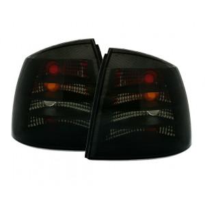 Bakljus för Opel Astra G Limo i svart