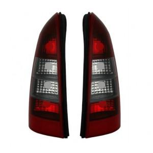 Bakljus för Opel Astra G Caravan i Röd Tonad