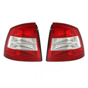 Bakljus som för Opel Astra G Limo i rött och vitt