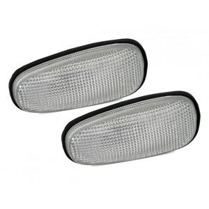 Sidoblinkers för Opel Astra G + Zafira A i vitt