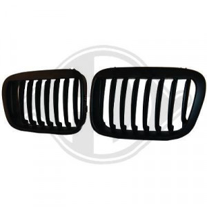 Frontgrill njurar svart BMW E46 Coupe Cab 03-07