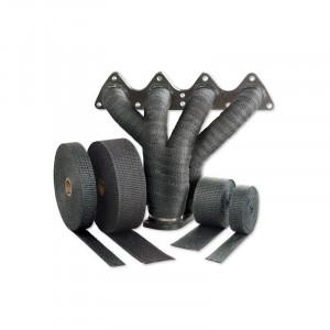 Avgasbandage 25mm svart 800 grader