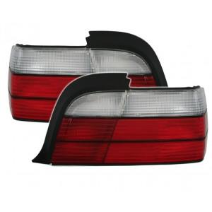 Baklysen röd vid BMW E36 Coupe Cab
