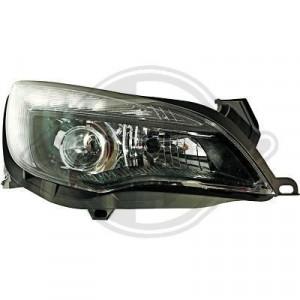 Framlysen LED Opel Astra J