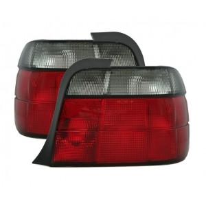 Baklysen röd tonad BMW E36 Compact