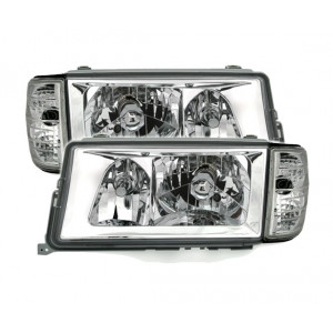 Framlysen med blinkers W201 E 190