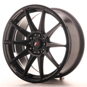 Japan Racing JR11 18x8,5 Matt Svart