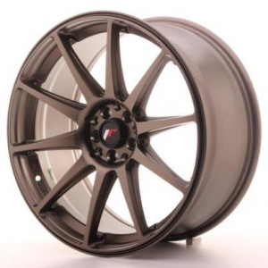 "Japan Racing JR11 19x8.5"" ET20 5x114/120 Matt Svart"