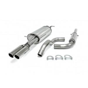 Rostfritt Sport avgassystem Skoda Octavia RS 180