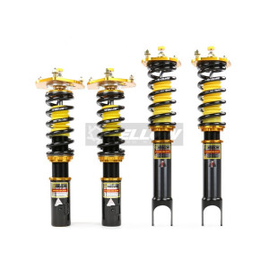 Yellow Speed Dynamic Pro Coilovers Ford Focus Mk3
