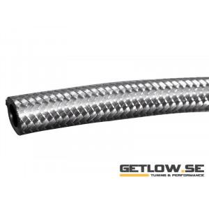 AN4 stålomspunnen slang 0.5m